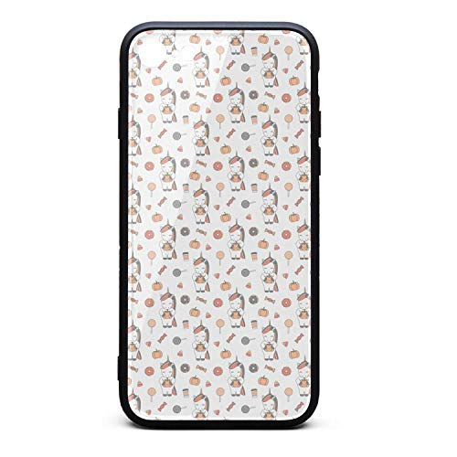 iPhone 7/8 Case Cute-Cartoon-Halloween Slim Anti-Slip TPU Soft Rubber Silicone Cover Skin Case for iPhone 7/8 Case -