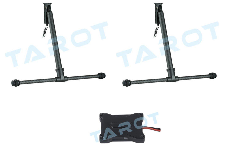 Tarot TL69A02 elektrisches Alu Carbon Landegestell 650 - 680 Reihe Komplettset