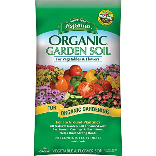 Espoma Company Organic Vegetable and Flower Soil