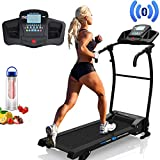 PrestigeSports XMPRO Dynamic Treadmill - 2019 Model Motorised Running Machine, Powerful Motor 1.5CHP 14KPH Speed, Speakers, 3 Level Manual Incline, 17 Program, Pulse