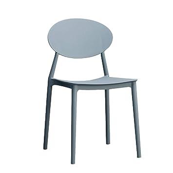LXQGR Salon de jardin en plastique, chaise de salon créative ...