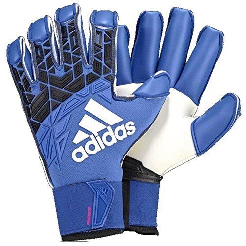 Adidas Ace Trans Fingersave Pro Goalkeeper Gloves Blue/Black/White - 7 - Adidas Fingersave Goalkeeper Gloves