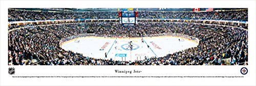 fan products of Winnipeg Jets - Center Ice - Blakeway Panoramas Unframed NHL Posters