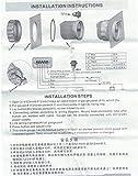 KUS Guaranteed Clock Meter Gauge 12-Hour Format