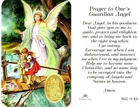 Guardian Angel Prayer Card (RCC 10E) - God Prayer Card