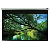 "Elunevision White Manual Projector Screen - 106"" 16:9 - White Material (106)"