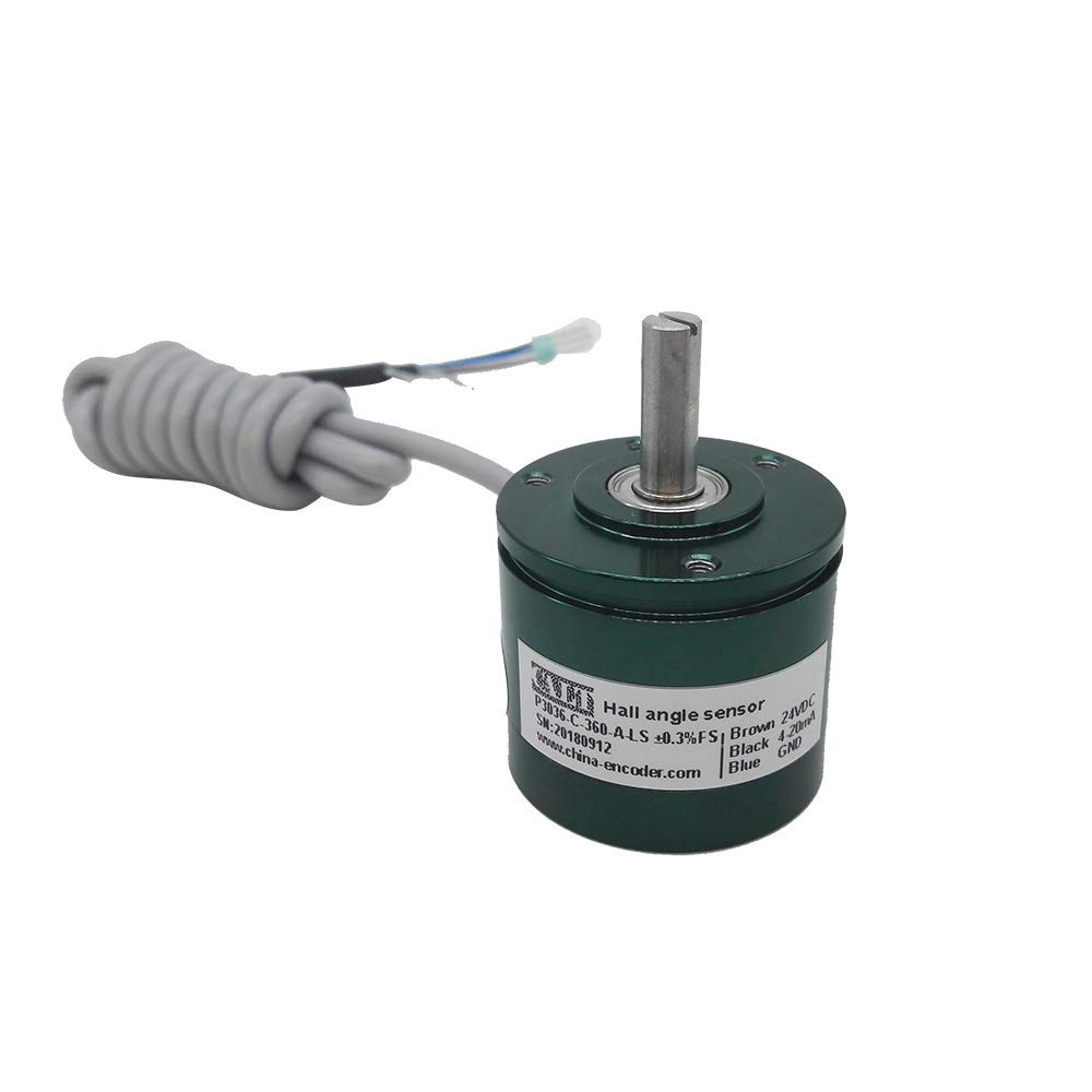 360/° 22 mm Diam/ètre ext/érieur sans contact 12 bits 5 V DC 0-5 V Sortie Hall Angle Sensor P3022 0