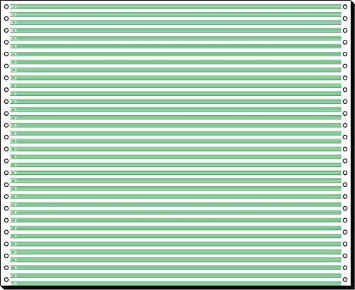 91000 Endlospapier 1fach mit Leselinien 12 Zoll x 375 mm (A3 quer), 60 g, 2000 Blatt