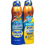 Banana Boat Sport Performance CoolZone Spray Sunscreen SPF 30 6 oz 2 count