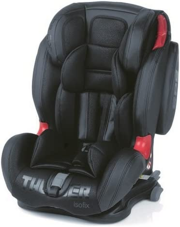 9-36 kg Be Cool by Jane Seggiolino auto isofix Thunder SPS Memory gruppo 1-2-3 BlackCrown 2019
