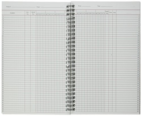 National Brand Class Record Book, 6-Day/Week Rolls, Wirebound, 9.5 x 5.75, 60 sheets (33990 Photo #3