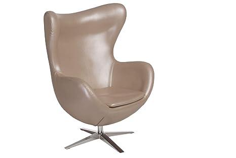 ElleDesign Egg Chair Jacobsen - Sillón reclinable (Piel ...