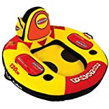 SportsStuff 52-1501 Trek N Tube 1-Rider Inflatable Marine Lounge
