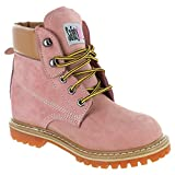 Safety Girl GS004-LTPNK-10.5W Safety Girl II Soft Toe Work Boots - Pink - 10.5W, English, Capacity, Volume, Leather, 10.5W, Pink ()