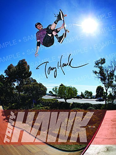 Tony Hawk Authentic Autographed 18 x 24 Poster