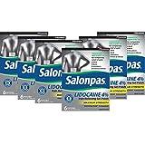Salonpas LIDOCAINE Special 6 PACK Pain Relieving Maximum Strength Gel Patch!