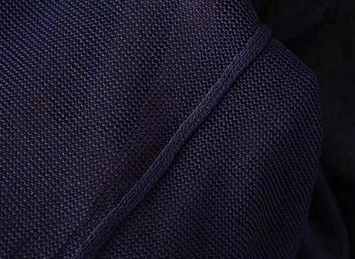 A Accogliente Marca Donna Manica Di Bolawoo Giacca Fashion Mode Giacche Allentato Primaverile Eleganti Monocromo Cardigan Cappotto Baggy Maglia Autunno Blue1 Lungo Outerwear Lunga qCaFY