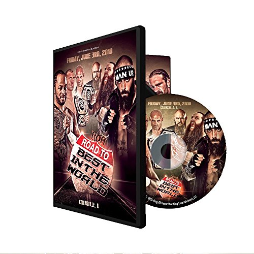 Official Ring of Honor ROH Road To Best In The World 2016 : Collinsville Event DVD