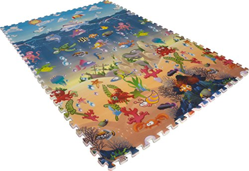 Nifty Kids Play Mat Extra Cushion (7/8'' - Blue Ocean Flooring Shopping Results
