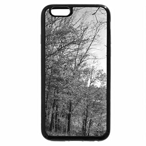 iPhone 6S Plus Case, iPhone 6 Plus Case (Black & White) - Secrets Of Autumn