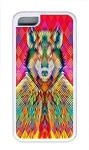 Corporate Wolf Custom iPhone 5C Case Cover TPU White