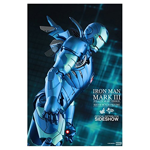 Iron Man Mark III (Stealth Mode Version)  - Hot Toys Iron Man Mark 3