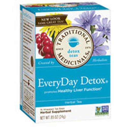 Everyday Detox Dandelion, 16 Bag by Traditional Medicinals Teas (Pack of 2)
