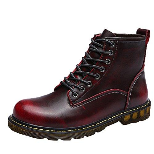 Zapatos para hombre cordones MatchLife de Fleece Wine vdFqa6w