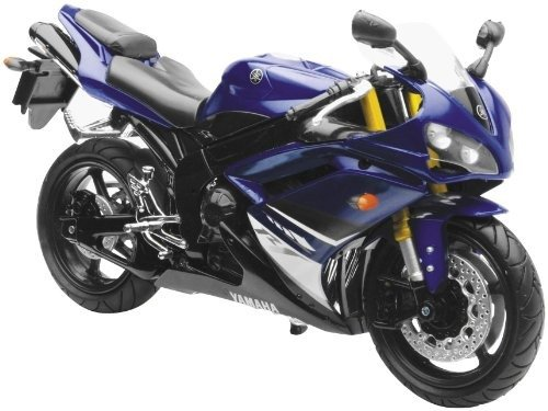 - New Ray Toys Street Bike 1:12 Scale Motorcycle - YZF-R1 Blue