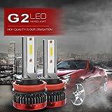 XCSOURCE H11 Mini LED Headlight Conversion Kit Car Driving Super Bright Headlamp LD1821