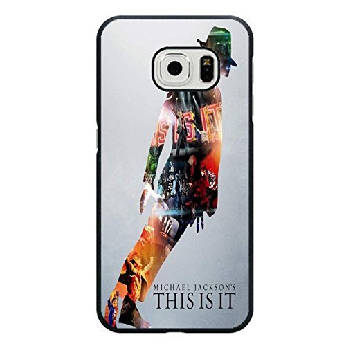 Custom Dance Step Michael Jackson Phone hülle Handyhülle Cover for Samsung Galaxy S6 Edge MJ Cover,Telefonkasten SchutzHülle