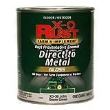 True Value XO36-QT XO Rust Quart John Deere Green Enamel farm and Implement Enamel