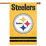 Party Animal Pittsburgh Steelers Banner NFL Flag, Yellow