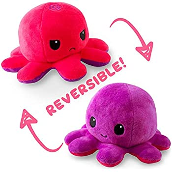 Amazon.com: TeeTurtle Reversible Octopus Mini Plush