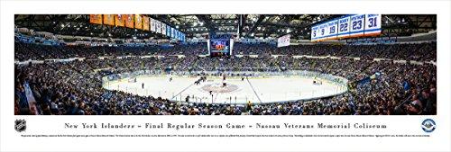 - New York Islanders - Final Game at Nassau Coliseum - Blakeway Panoramas Unframed NHL Posters