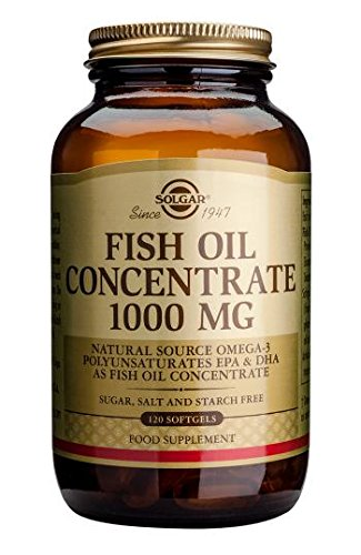 Fish Oil Concentrate 1000mg (Fischöl) 120 Softgels SO