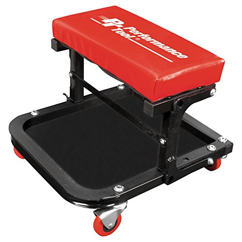 Performance Tool W85021 Folding C-Frame Seat with Bottom Tool Tray (12