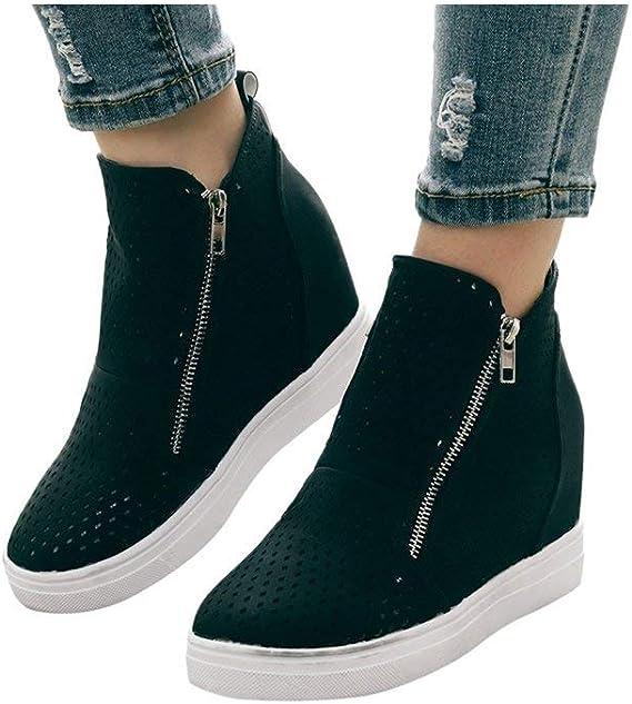 Wedge Sneakers for Women,Fashion Hidden