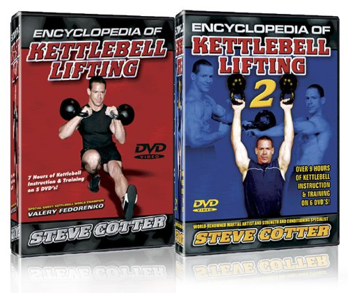Steve Cotter - Encylopedia of Kettlbell Lifting 1 & 2. Combo Pack