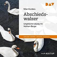 Abschiedswalzer Hörbuch von Milan Kundera Gesprochen von: Wolfram Berger