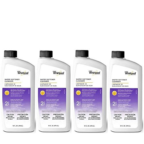 Whirlpool Water Softening Cleanser Formula 16oz, Pack of 4