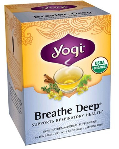 Yogi Tea Breathe Deep - 16 Tea Bags (Best Tea For Asthma)