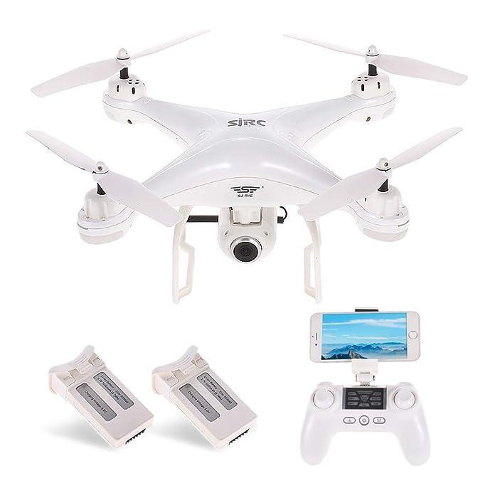 27 opinioni per SJ R/C / C S20W1080P (GPS) FPV Regolabile 1080P HD Camera Wide Angle RTF Doppio