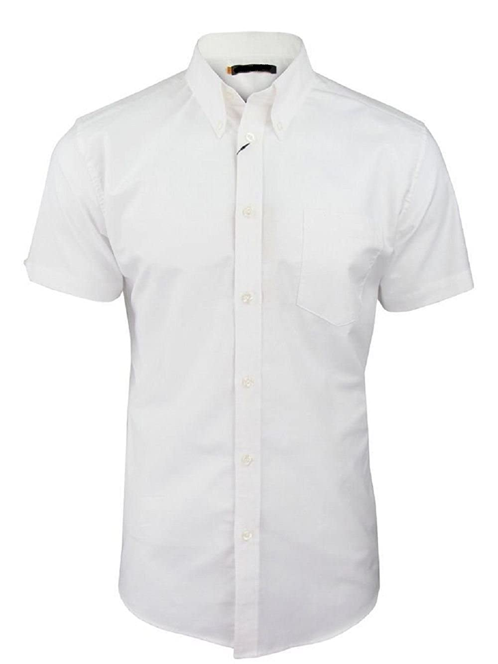 Grande taille Chemise /à manches courtes en coton pour homme Grandes tailles