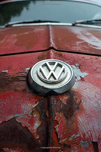 Lost And Forgotten Volkswagen Of Yesterday Notebook: Journal Paper Composition Notebook