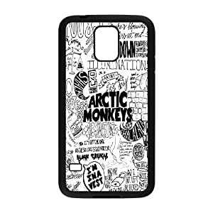 High quality Arctic Monkey logo, Rock band music,Arctic Monkey band protective case cover For Samsung Galaxy S5 QH596715934 by runtopwell