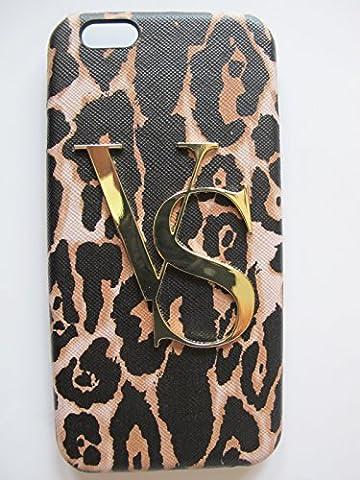 Victoria's Secret Leopard Cheetah Gold Vs Logo Iphone 5 5s Hard Case Cover (Iphone 5 Cases Cheetah)