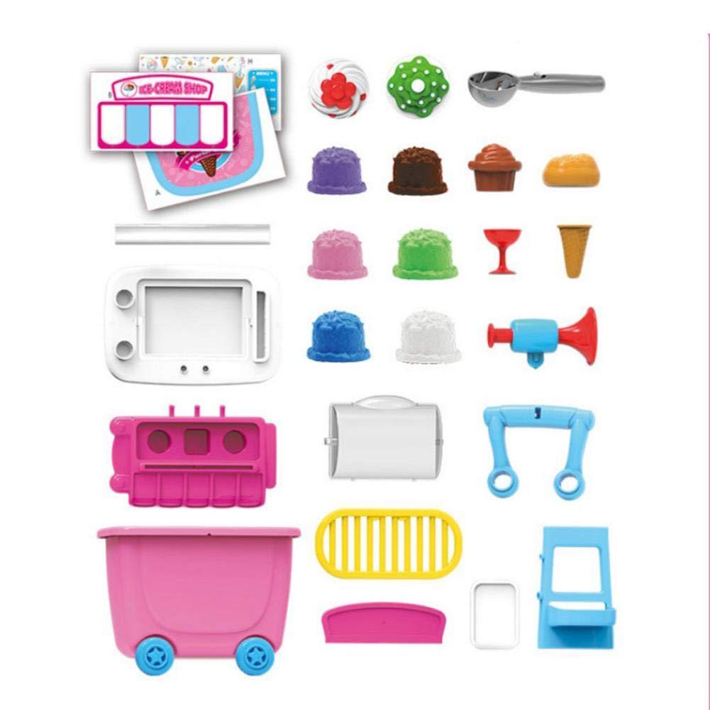 Amazon.com : Pre-Kindergarten Toys House Toys mall Supermarket Toy Trolley Car Barrel BBQ Trolley Birthday Christmas Gift for Boys Girls Kids Children : ...