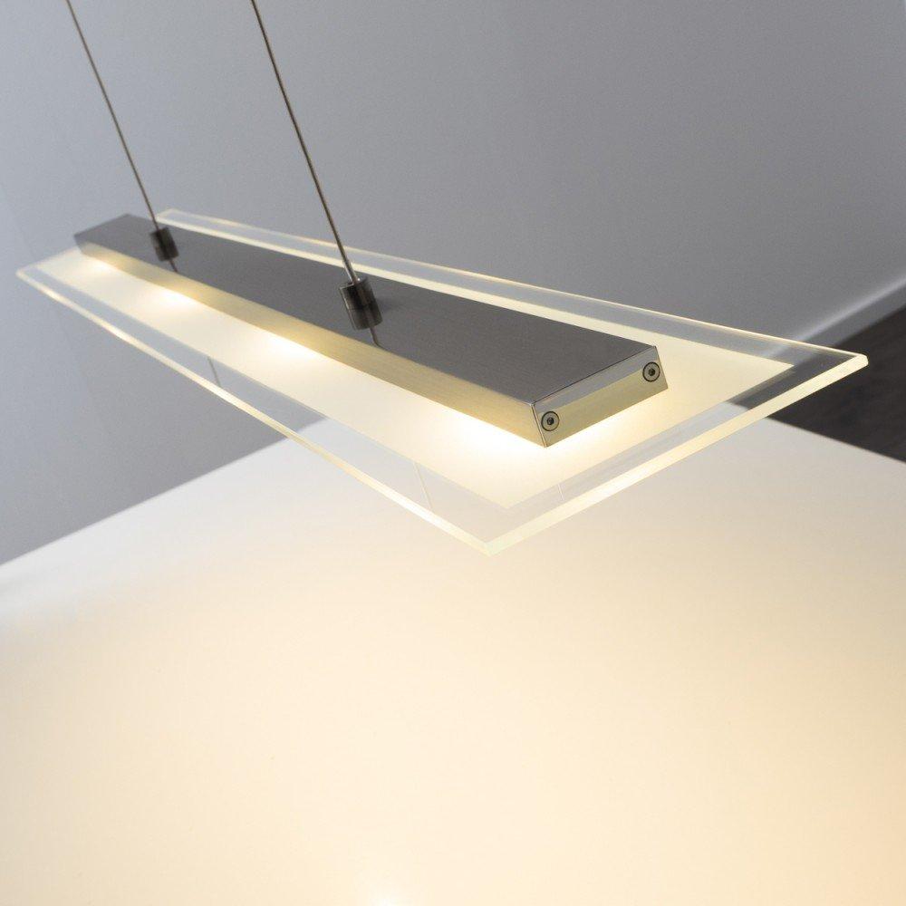 Led squared pendant ceiling light 4x4 watt adjustable hanging led squared pendant ceiling light 4x4 watt adjustable hanging dimmable amazon lighting arubaitofo Images