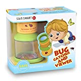 SainSmart Jr. Bug Catcher and Viewer Microscope for kids, Nature Exploration Toys Insect Magnifier Backyard Explorer for Children